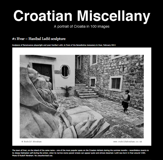 CROATIAN MISCELLANY - A portrait of Croatia
