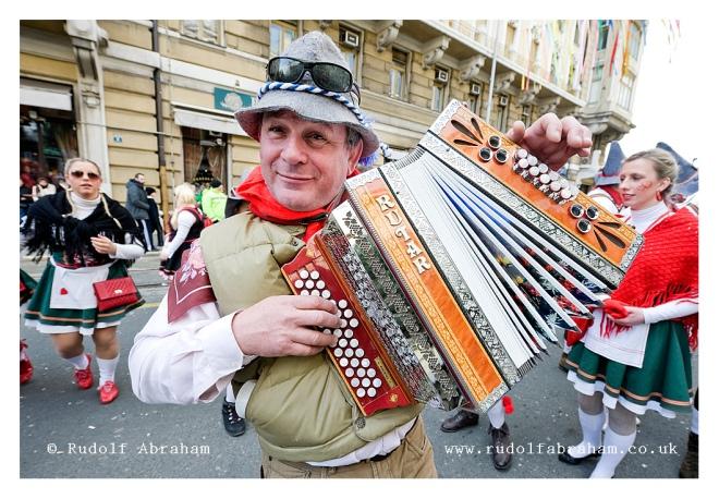 Rijeka Carnival, Croatia photography by Rudolf Abraham