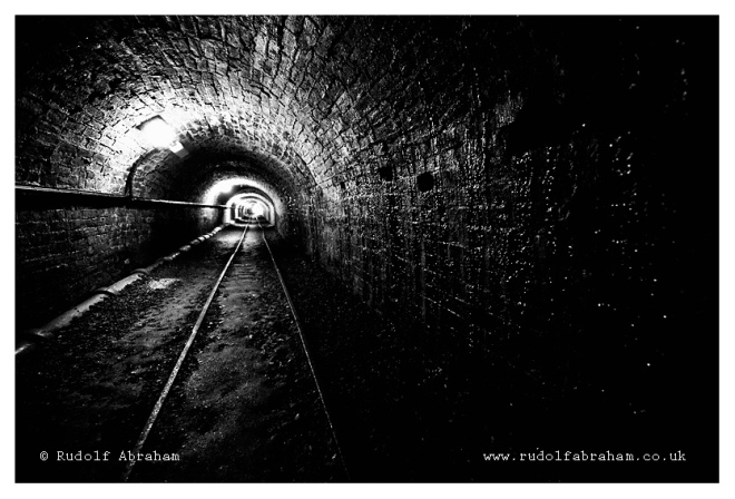Tar tunnel, Ironbridge Gorge UNESCO World Heritage, Shropshire, UK. Photo © Rudolf Abraham UKsh_0160a