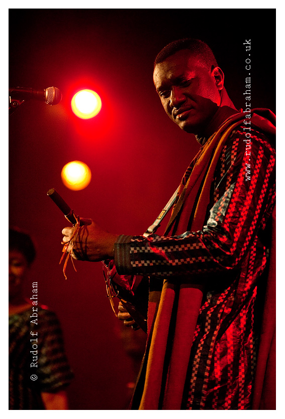 Bassekou Kouyate and his band Ngoni ba performing live at Union Chapel in Islington, London, UK (20 March 2014) © Rudolf Abraham. All rights reserved.