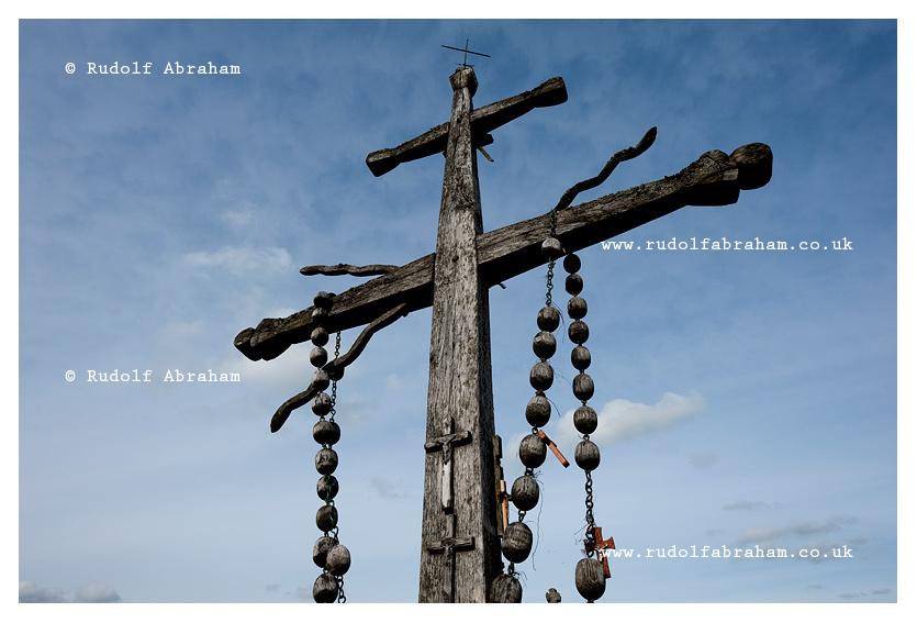 Hill of Crosses, Lithuania. © Rudolf Abraham.