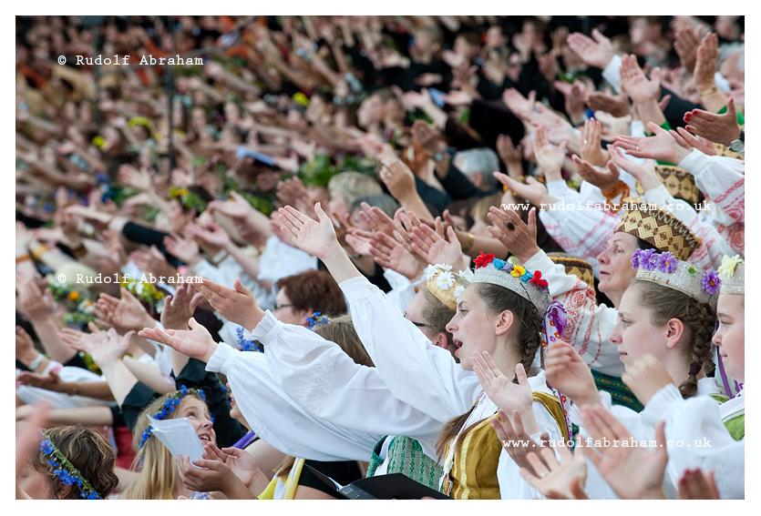 Lithuanian Song Celebration, Vilnius, 2014 © Rudolf Abraham. All Rights Reserved.