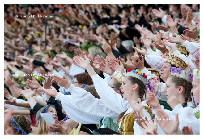 Lithuanian Song Celebration, Vilnius, 2014 © Rudolf Abraham. All Rights Reserved.