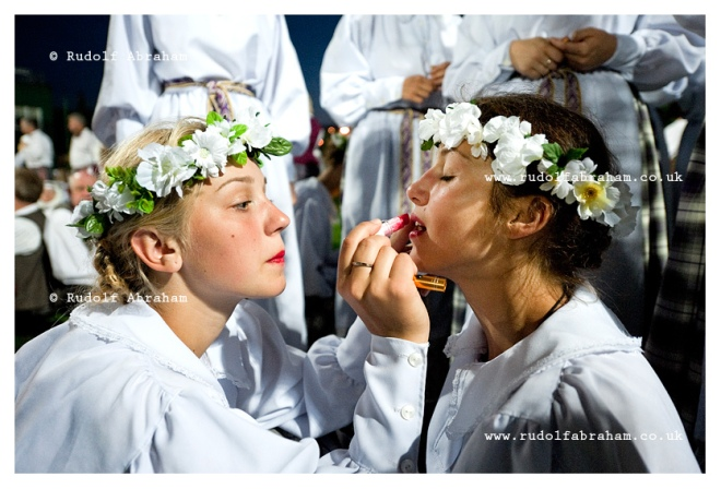 Lithuanian Song Celebration - Dance Day, Vilnius, Lithuania © Rudolf Abraham