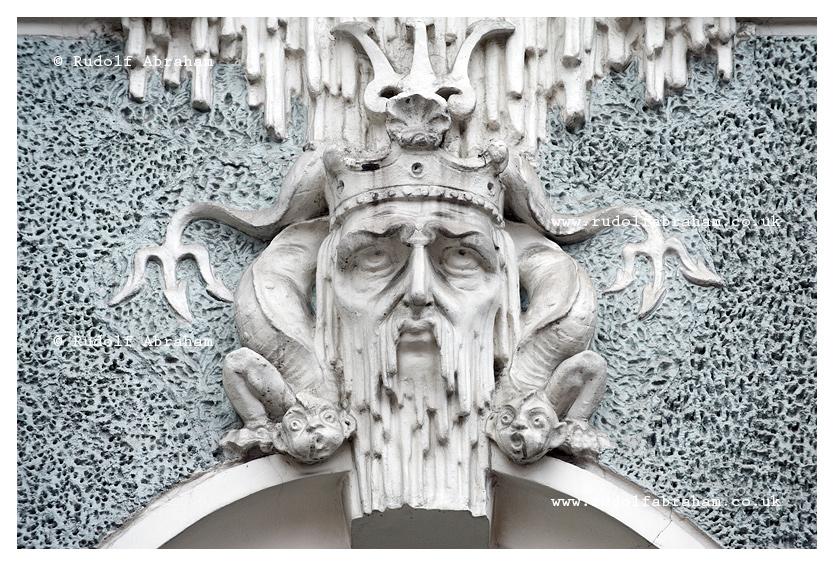 Art Nouveau architecture in Riga, Latvia © Rudolf Abraham LVri_0360