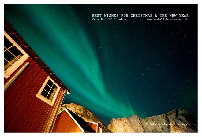 Lofoten islands Arctic Norway © Rudolf Abraham Photography All Rights Reserved Christmas Card 2014