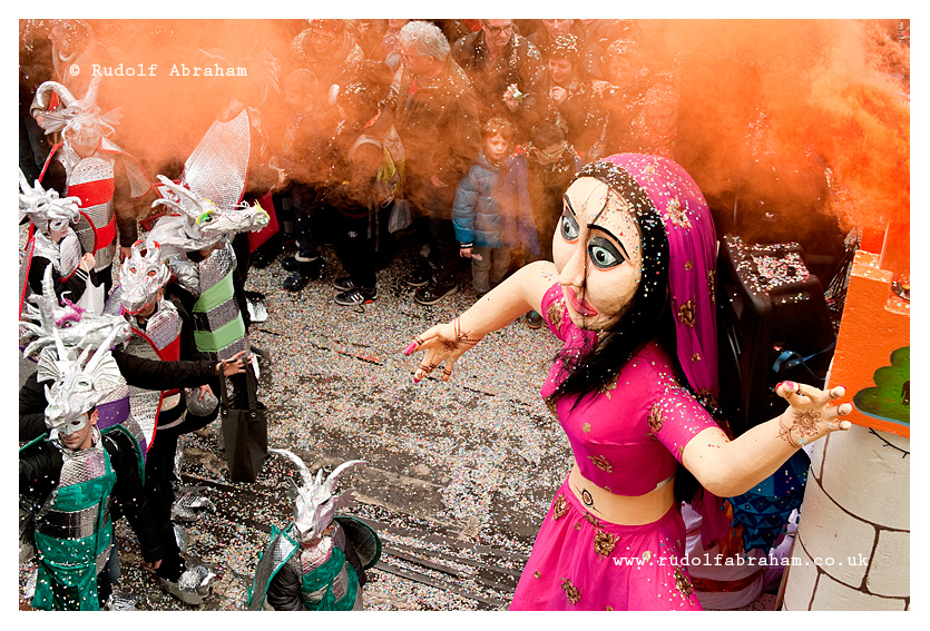 Granville Carnival, Normandy, France photography © Rudolf Abraham