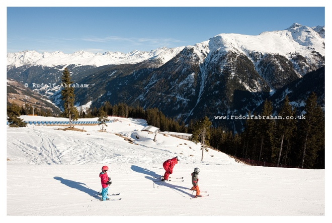 Skiing in Kappl, Paznaun Valley, Tyrol, Austria © Rudolf Abraham