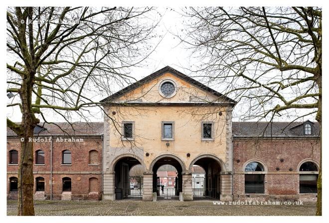 UNESCO-listed Grand-Hornu mining complex, near Mons, Belgium © Rudolf Abraham