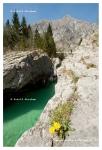 River Soca, Alpe Adria Trail, Triglav national park, Slovenia © Rudolf Abraham