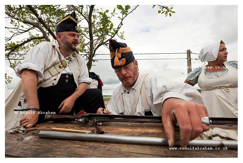 Battle of Waterloo 200th anniversary reenactment Belgium 2015 photography © Rudolf Abraham