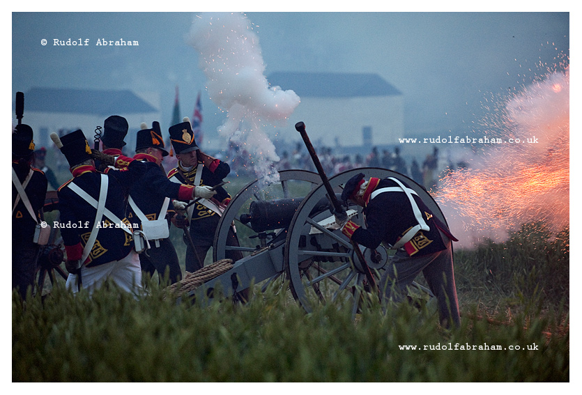 Battle of Waterloo bicentenary reenactment, Belgium 2015  © Rudolf Abraham