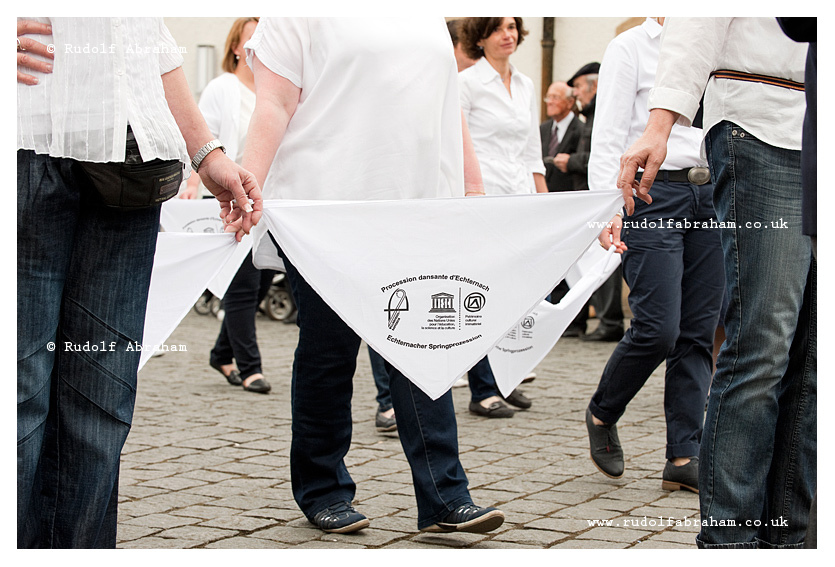 Dancing procession pf Echternach Luxembourg photography UNESCO © Rudolf Abraham