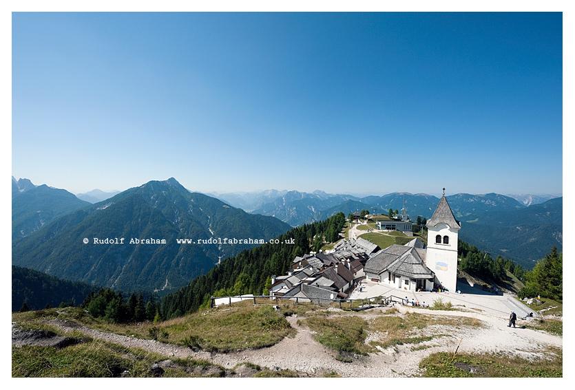 Monte Lussari, near Tarvisio and the border with Slovenia, on the Alpe Adria Trail, in the Friuli Venezia Giuli region of northern Italy (August 2015) © Rudolf Abraham