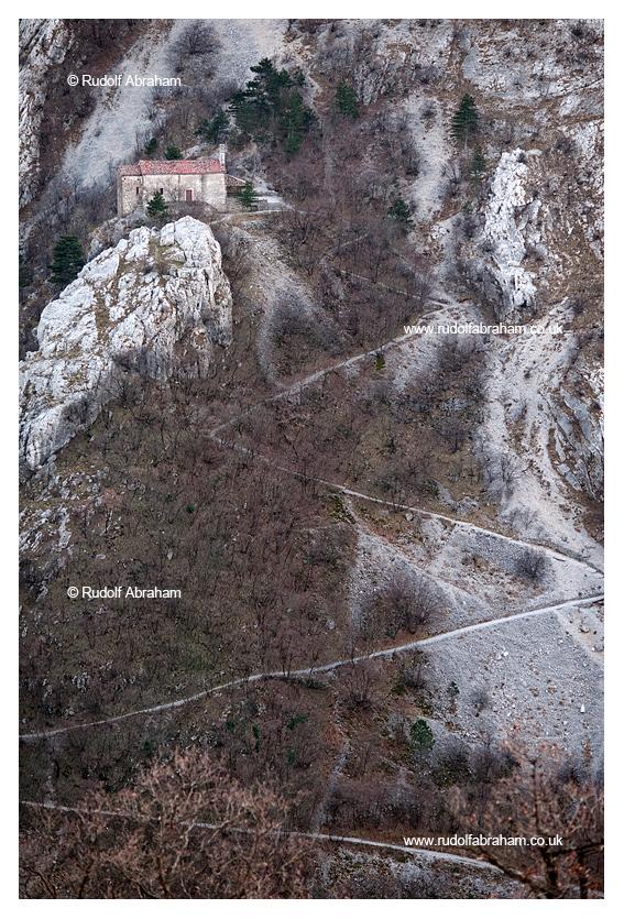 Alpe Adria Trail Italy Val Rosandra photography © Rudolf Abraham