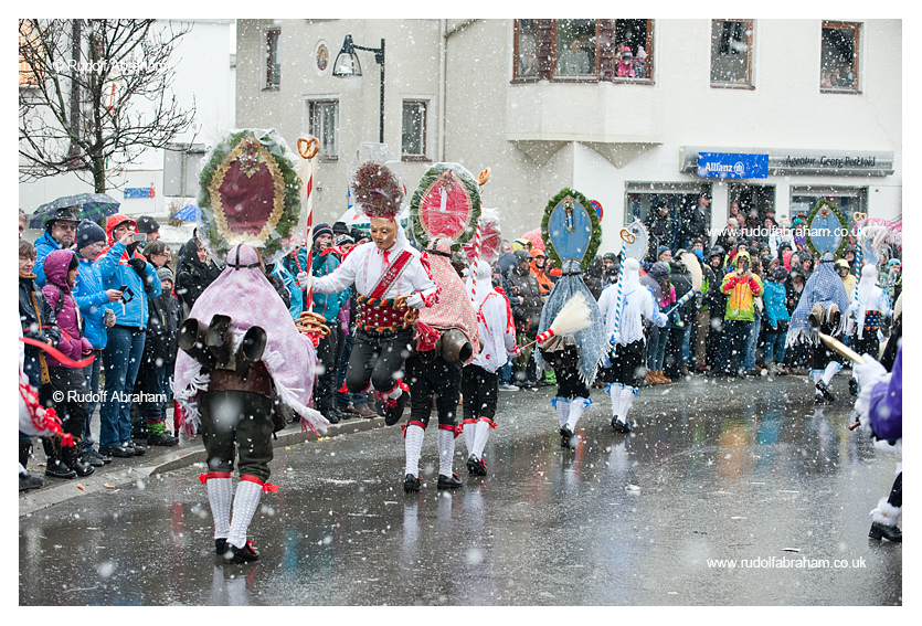 Imst Schemenlaufen carnival in Imst, Tirol, Austria, January 2016, UNESCO Intangible Cultural Heritage photography © Rudolf Abraham