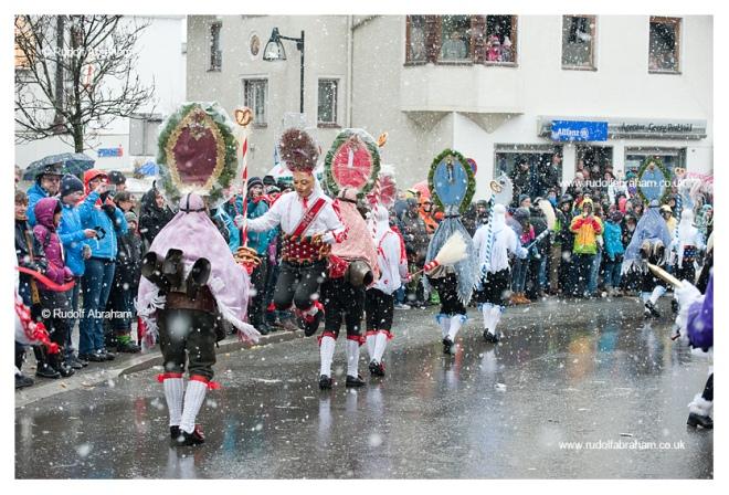 Imst Schemenlaufen carnival in Imst, Tirol, Austria, January 2016, UNESCO Intangible Cultural Heritage photography © Rudolf Abraham