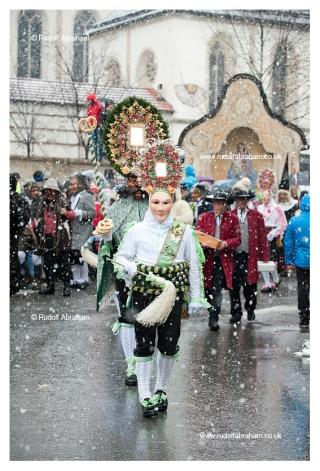 Schemenlaufen, carnival in Imst, Tirol, Austria © Rudolf Abraham