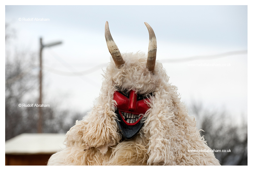 Buso carnival Mohacs Hungary UNESCO Intangible Cultural Heritage photography © Rudolf Abraham