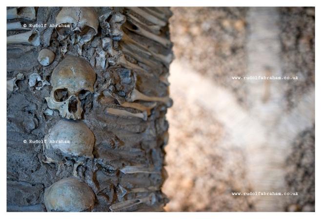 Évora, Alentejo, Portugal, Chapel of Bones, travel photography copyright Rudolf Abraham