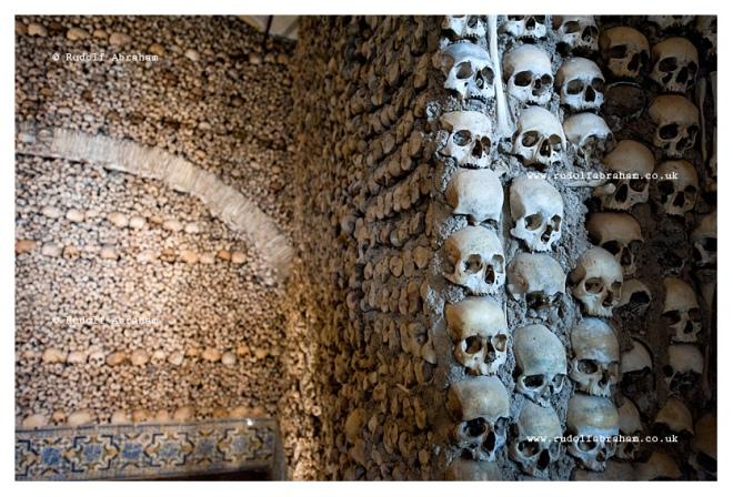 Chapel of the Bones (Capela dos Ossos),  Évora, Alentejo, Portugal © Rudolf Abraham
