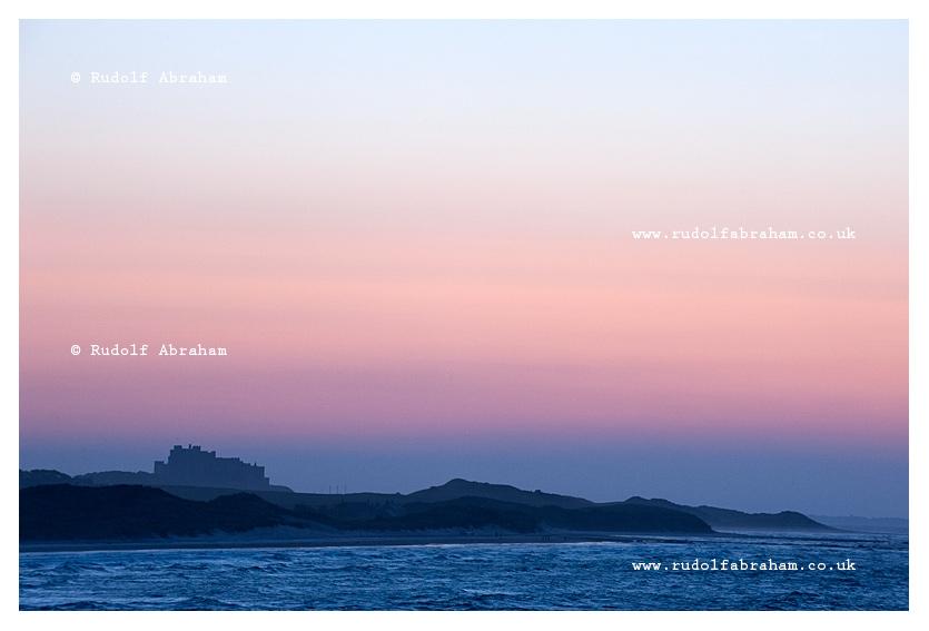 Northumberland Bamburgh Castle coast photography Rudolf Abraham