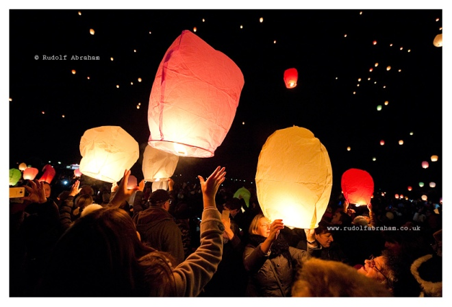 Lantern night, Marija Bistrica Croatia