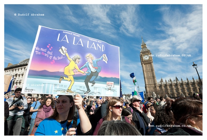 Unite for Europe march London photography brexit Rudolf Abraham
