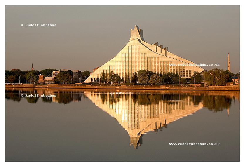 Riga National Library Latvia photography © Rudolf Abraham
