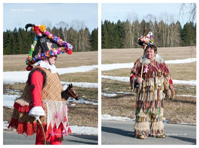Masopust (Carnival) in Vortová, Czech Republic photography © Rudolf Abraham