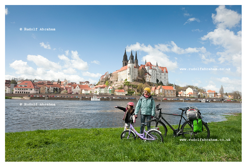 Elbe Cycle Route, Meissen, Saxony, Germany © Rudolf Abraham