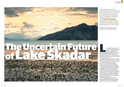 Lake Skadar Montenegro travel writer